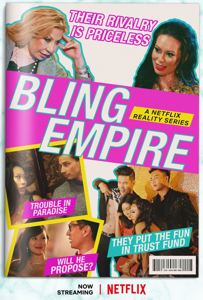 Bling Empire Key Art Courtesy of Netflix © 2021   The Little Binger