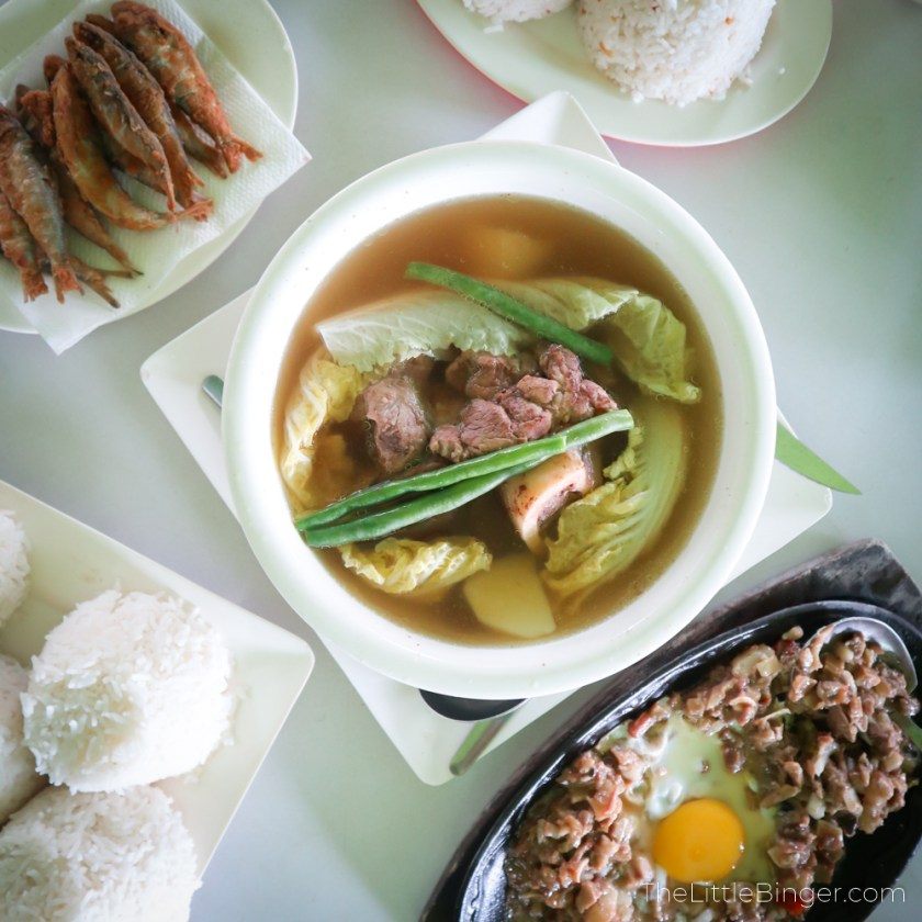 Filling lunch at Mer-Ben Tapsilogan sa Tagaytay | The Little Binger