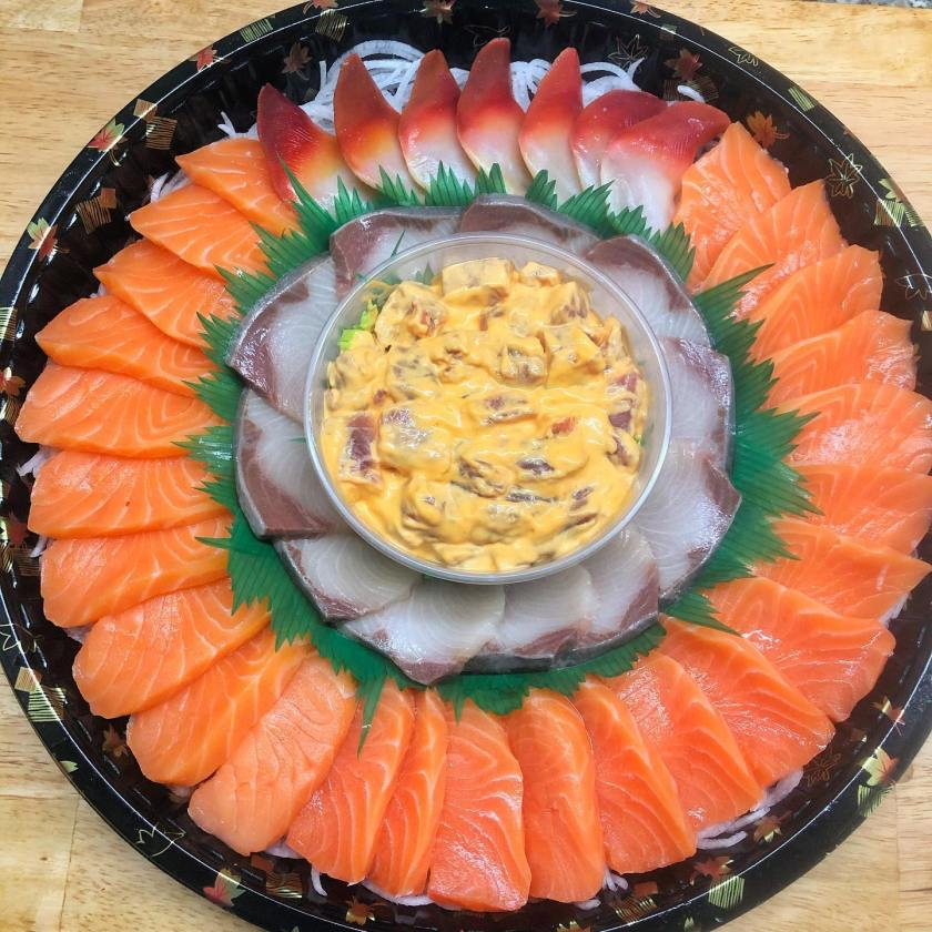 Sushi Platter | Salmon HQ To Satisfy Your Summer Cravings | The Little Binger