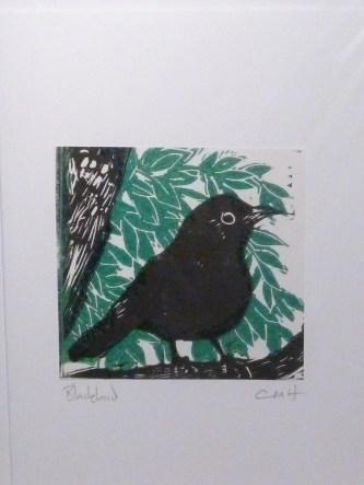 Blackbird - two colour