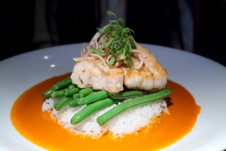 Thai Red Curry Pacific Lingcod
