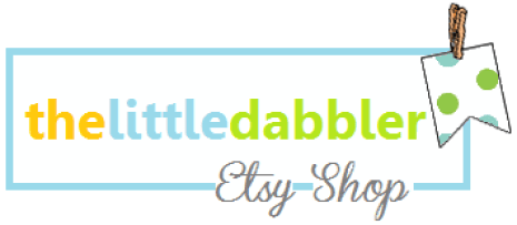 thelittledabbler Etsy Shop new header