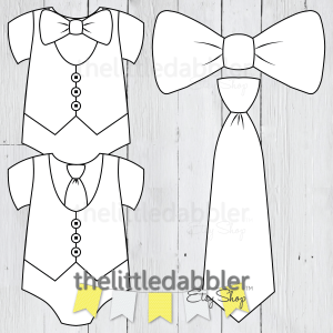LITTLE MAN BABY SHOWER ONESIE TEMPLATES FROM THELITTLEDABBLER ETSY SHOP
