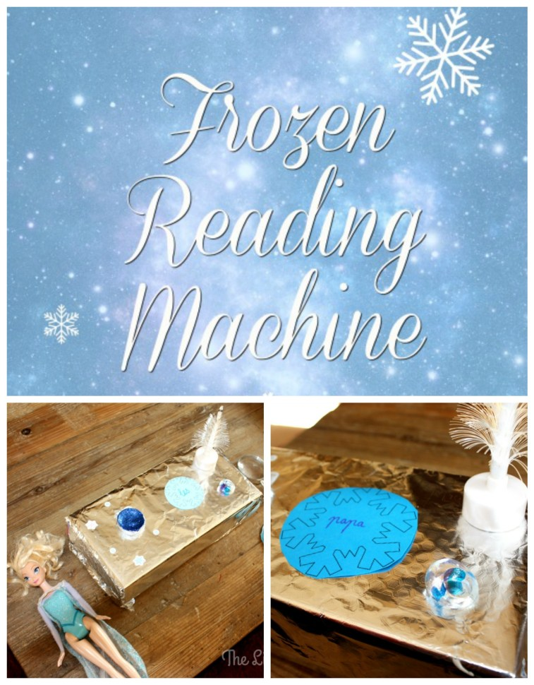 Practise those tricky words with a Disney Frozen Reading Machine!