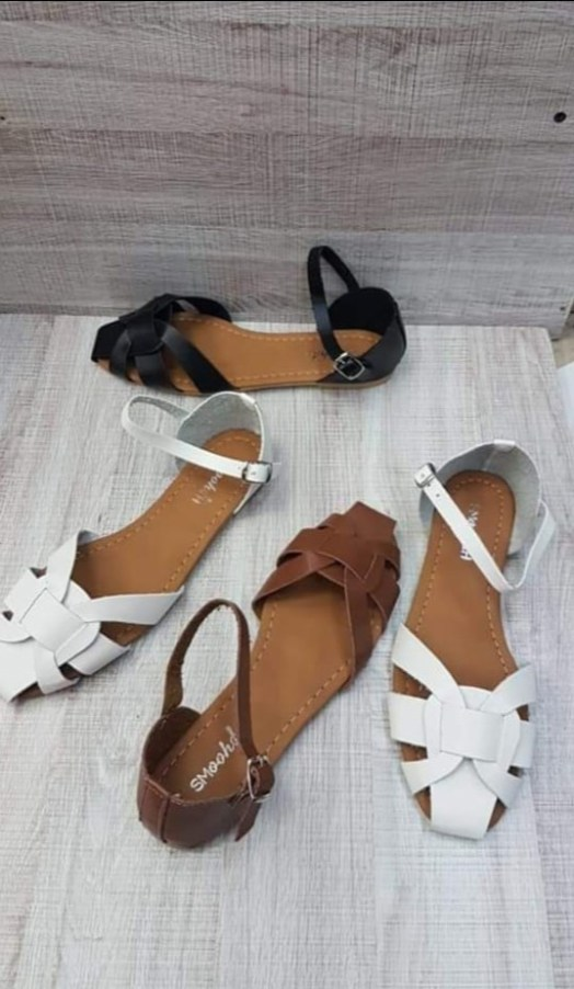 Assorted Ladies Leather Sandals - Buy Online