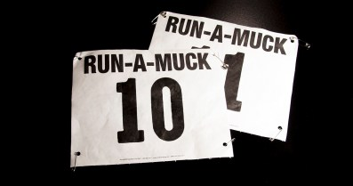 Our first race numbers