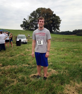 Matt at the finish