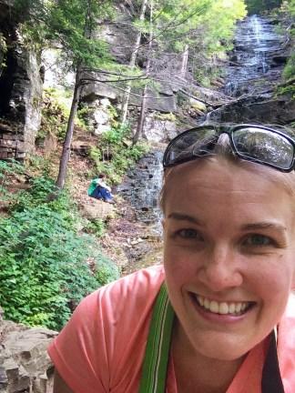 Waterfall Selfie!