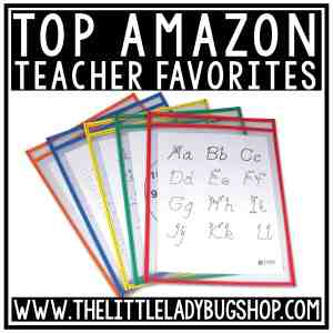 Top Amazon Teacher Favorites finds for the classroom