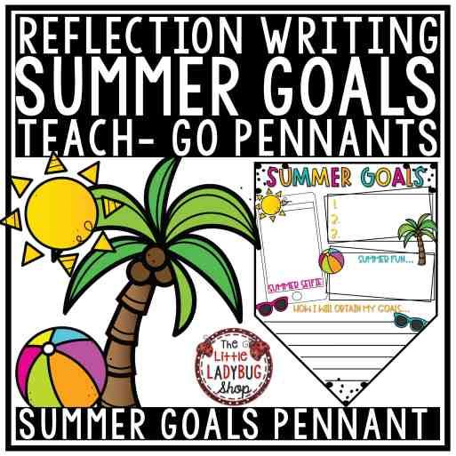 Summer Goals Freebie