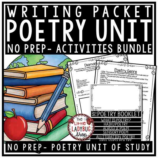 Poetry Unit of Study- Poetry Writing