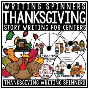 Thanksgiving Creative Writing Spinners