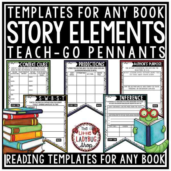 Reading Strategy Story Elements Graphic Organizers