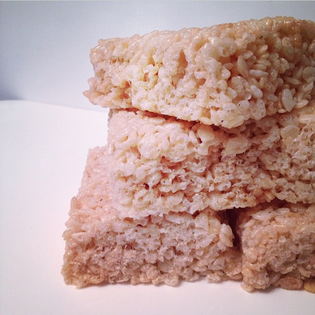 The Little Loft - rice krispies squares