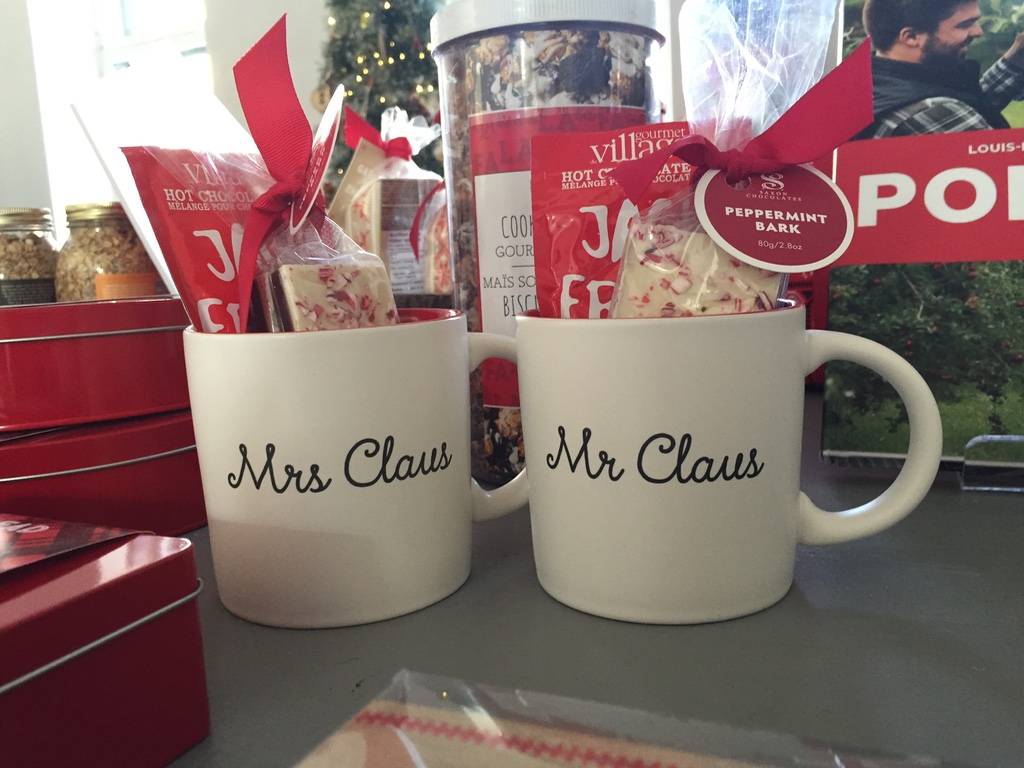 mr. mrs. claus mugs