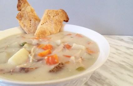 Chrissy Teigen's Chicken Pot Soup Recipe