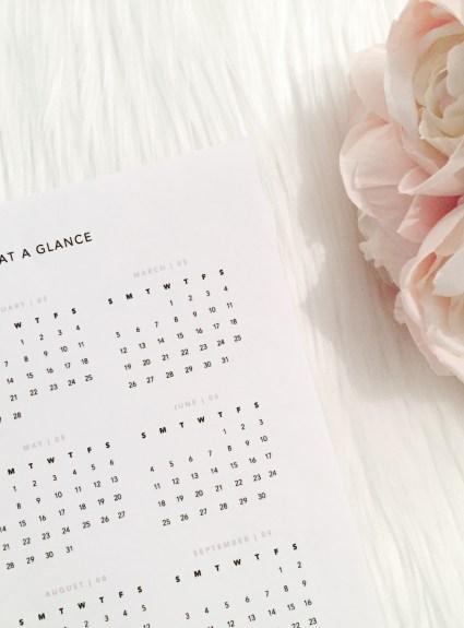 FREEBIE: 2017 Calendar