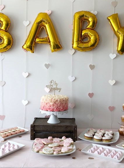 Baby Shower DIY Projects