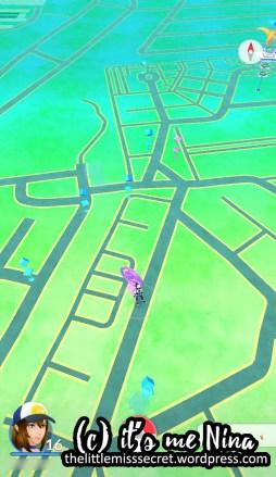 Poke stops - A part of Loyola Memorial Park Marikina