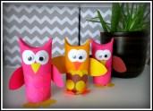 Paper Roll Owl Craft