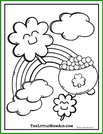 St Patrick's Day Coloring Page 3
