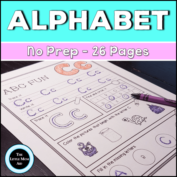 Alphabet Practice Printable Pack