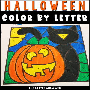 These Halloween Color by Letter printables are perfect for the halloween season. Preschool and kindergarten students will practice letter recognition and learn color words.