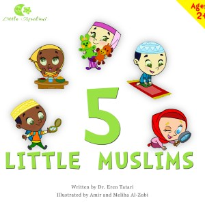LM Story Book 1- Five Little Muslims- frontpage