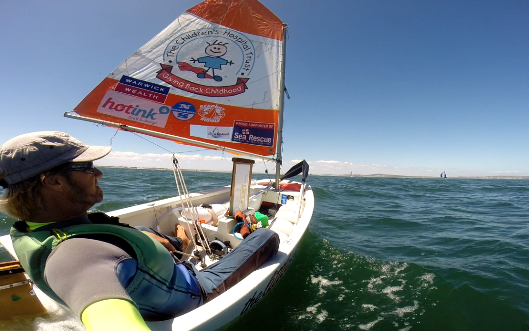 Greg Bertish And The Little Optimist To Embark On An Adventure