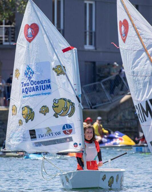 Maryke From Two Oceans Aquarium | Great Optimist Race