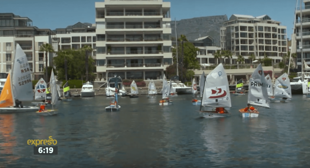 The Great Optimist Race On Expresso TV Breakfast Show