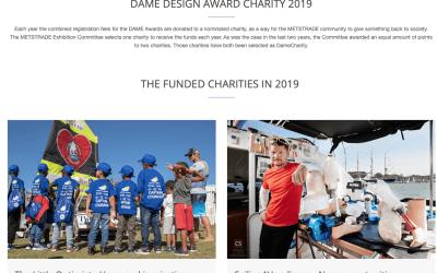 Little Optimist receives international charity award