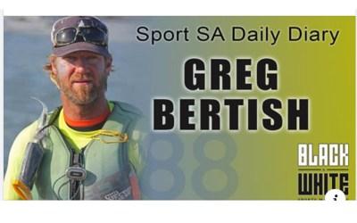 Sport SA Daily Diary chats to sailer & big wave surfer, Greg Bertish