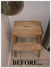 IKEA Stool Hack | The Little Red Heart