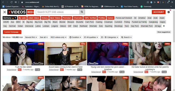 xvideos red dashboard