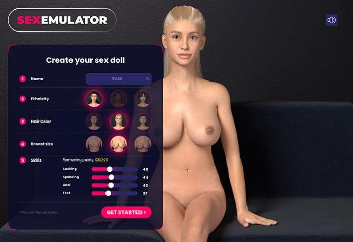 sex emulator build your doll