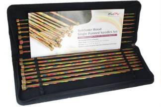 KnitPro Symfonie Single Pointed Knitting Needle Set