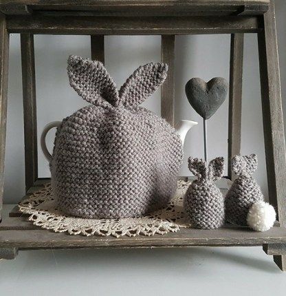Knitted Egg Cosies