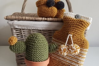 Garter stitch knitting patterns
