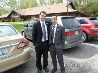 Elder Paul Raffensparger - my trainer