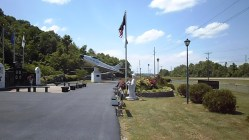 Greenup County War Memorial, the meeting place for companion exchanges into Kentucky!