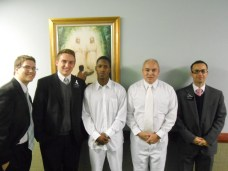 On Saturday, Oct. 26, Scott Spinner was baptized into the fold and family of Jesus Christ