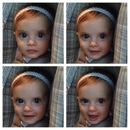 Look at my niece! She is so pretty!