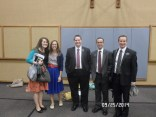 Elder Wright, Elder… Gibson?, Sister Tobler, and probably my last picture with Sister Herring in the mission!