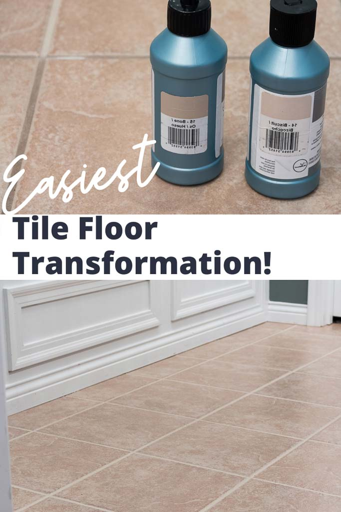 grout paint before and after easy tile