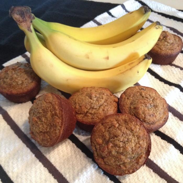 Almond Meal Banana Muffins