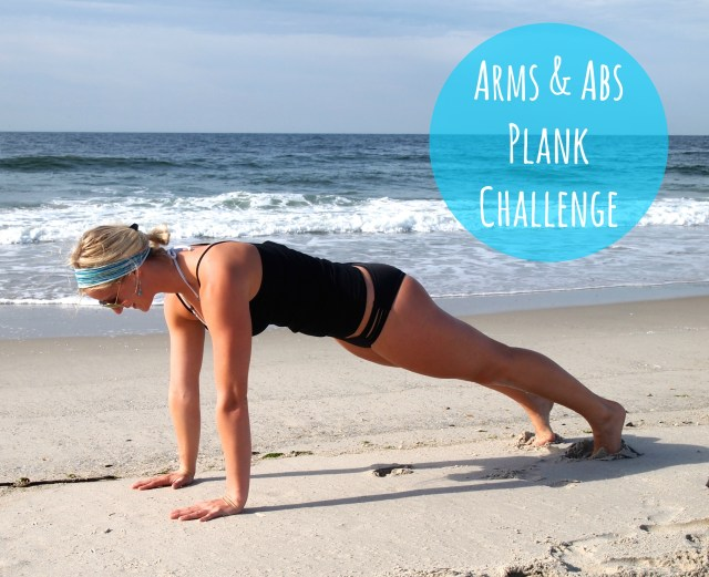 Arms & Abs Plank Challenge