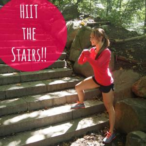 HIIT the Stairs!!