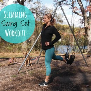 Slimming Swing Set Workout!
