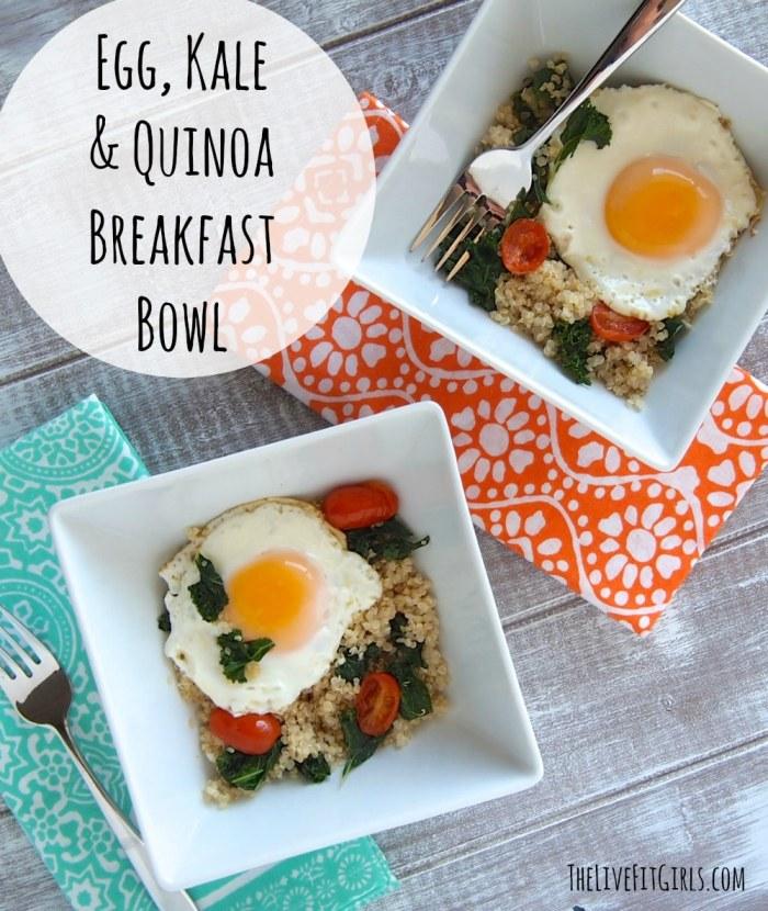 Egg & Quinoa Breakfast Bowl